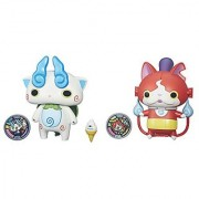 Yo-kai Watch Converting Characters Wave 1 2-Pack (Jibanyan-Baddinyan / Komasan-Businessman)