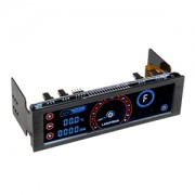 Fan controller Lamptron CM430 PWM Limited Edition Red/Blue