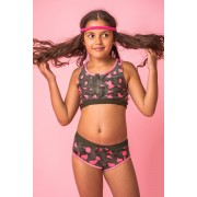 Lea kétrészes lányka fürdőruha
