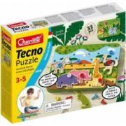 Joc creativitate si indemanare Quercetti Tecno Puzzle Jungle Savana
