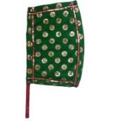 Apex Self Design Green Hand Fan(Pack of 1)
