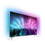 "Philips 55PUS7101/12 55"" UHD TV, DVB-T2/C/S, Android TV, Ambilight 3, Pixel Plus UHD, 2000 PPI, 20W, Dark Satin"
