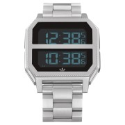 Adidas Archive Mr2 Watch All Silver