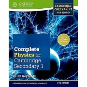 Complete Physics for Cambridge Secondary 1 Student Book by Helen Re...