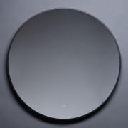 Best Design Best-Design Nero Venetië ronde spiegel zwart incl.led verlichting Ø 80 cm 4007950