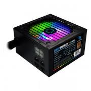 Sursă de Alimentare Gaming CoolBox DG-PWS600-MRBZ RGB 600W Negru
