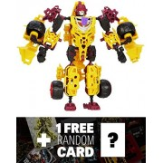 Decepticon Dragstrip: Transformers Construct-Bots Elite Class Buildable Action Figure + 1 FREE Offic