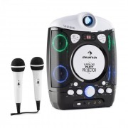 Kara Projectura Sistema Karaoke com Projetor efeitos de Luz LED Preto-Cinza
