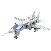 Super A1 Army Fighter Jet With Missile Launchers Ausini 228pc Building Blocks Set Compatible To Lego Parts Best Gift For Boys And Girls