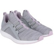Puma Mega NRGY Knit Wns Quarry-Winsom Running Shoes For Women(Grey)