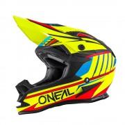 Oneal O´Neal 7SERIES Chaser Evo Casco de Motocross Amarillo Fluorescente XS (53/54)