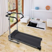 "vidaXL Electric Treadmill 100x34 cm with 3"" LCD Display 500 W"