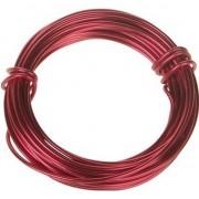 Geen Hobby aluminium draad rood 500 cm