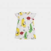 Mini Rodini veggie aop wing dress