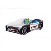 Pat Tineret MyKids Race Car Personalizat(NUME COPIL)-140x70