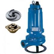 DTR 550 Pentax Pompa submersibila de drenaj cu tocator , putere 4 kW , inaltime refulare 36.9-27.8 m , debit 50-300 l/min