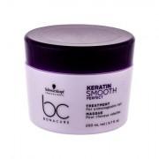 Schwarzkopf BC Bonacure Keratin Smooth Perfect maschera per capelli indisciplinati 200 ml