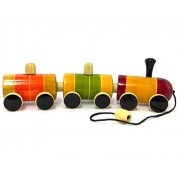 Playthings Wagon Rail-Pull Along