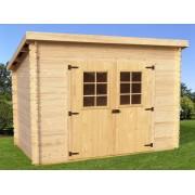 abri de jardin en bois Charente 3x2 m