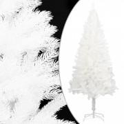 Pom de Crăciun artificial cu suport, alb, 210 cm, PE