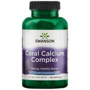 Swanson Coral Calcium komplex kapszula 90db