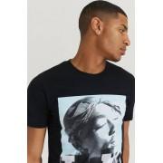 Rock Off T-Shirt Tupac Tee Svart
