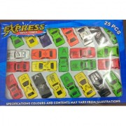 only4you Imported Express 25 Pc Free Wheel Car Set