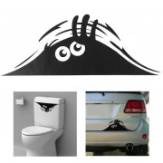 Meco Car Toilet Monster Bathroom Decal Seat Decor Removable DIY Wall Art Stickers