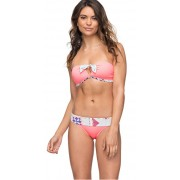 Roxy Costum de baie Aloha Roxy Bandeau/Scooter Lady Pink ERJX203263-MCZ0 XS