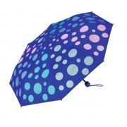 Esprit Super Umbrella Mecanică Folding Super Mini Spectrum Blue