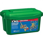 K'NEX Education - Simple and Compound Machines Set - 352 Pieces - Ages 9+ Engineering Educational Toy