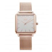 IKKI Horloges Watch Tenzin Rose Gold Plated Zilverkleurig