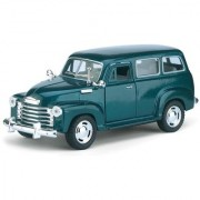 JGG Jain Gift Gallery Kinsmart 5 Diecast Metal 1950 Chevrolet Suburban Carryall Car Pack of 1 Color May Vary