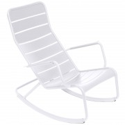 Fermob Luxembourg schommelstoel Cotton White