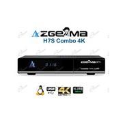 ZGEMMA H7S DECODER COMBO 4K UHD ENIGMA2: ZGEMMA H7 SUPPORTA IPTV ED HA TUNER T2/S2X MULTISTREAM E IPTV 4K