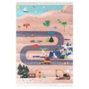 Tepih za dečiju sobu 100x140 cm / Planinski put
