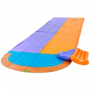Garden games racing water slide