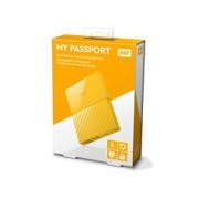 DD EXT PORTATIL 4TB WD MY PASSPORT AMARILLO 2.5/USB3.0/COPIA LOCAL/ENCRIPTACION/WIN