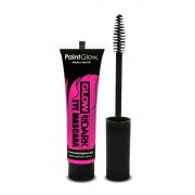 Roze glow in the dark mascara
