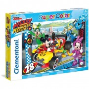 Clementoni puzzle supercolor mickey and the roadster racers 27984
