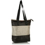 Home Heart Girls Silver, Brown Tote