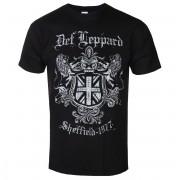 t-shirt metal uomo Def Leppard - SHEFFIELD 1977 - PLASTIC HEAD - PH11348