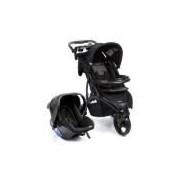 Carrinho De Bebê Travel System Infanti Off Road Duo Onyx - Cax90252
