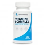 Muscle Concepts Vitamine B-Complex 100 tabletten