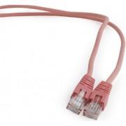 Gembird FTP Cat6 Patch cord, pink, 0,5 m