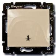 Кнопка с символом лампы Legrand Valena кремовый