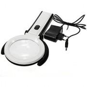 2.5X90mm 8X25mm 10 LED Folding Lamp Magnifier Magnifying Glass - NI61A