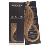 Poze Premium Keratin Extensions Brown Ashblonde Mix 10B/8B - 50cm