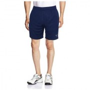 Adidas Blue Mens Shorts for Running-Handmade