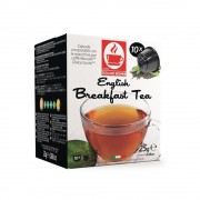 Capsule ceai english breakfast TIZIANO BONINI, compatibile DOLCE GUSTO, 10 buc.